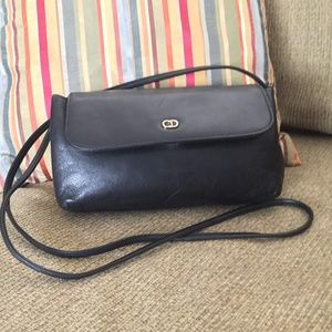 Vintage 80's 90's Christian Dior Handbag Leather